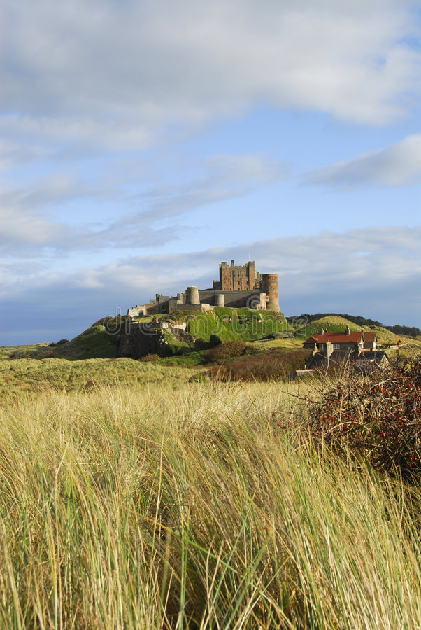 Download Bamburgh Castle stock image. Image of local, history, culture - 4072753
