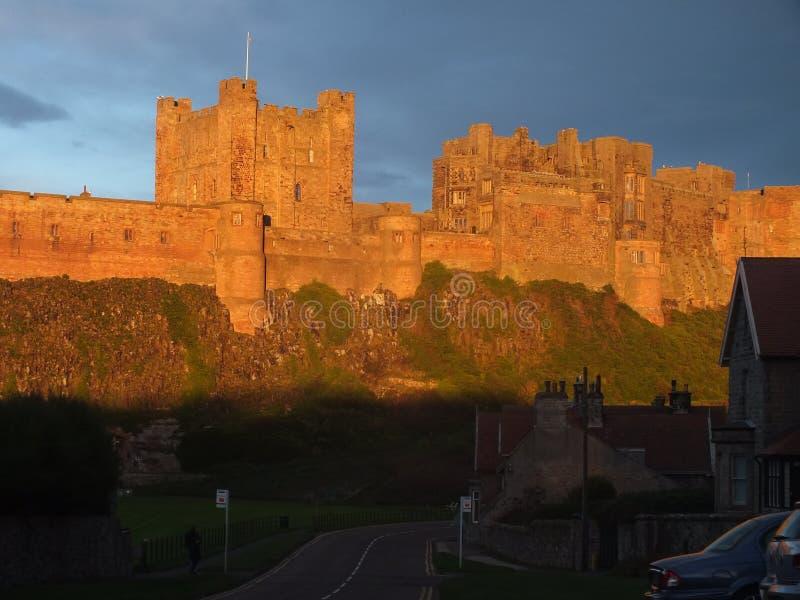 Bamburgh Castle1 imagens de stock royalty free