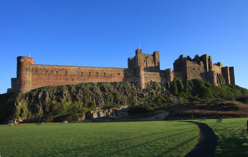 bamburgh zamku zdjęcie stock