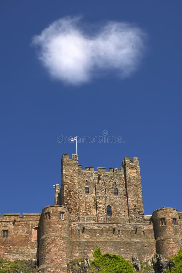 bamburgh zamku obraz stock