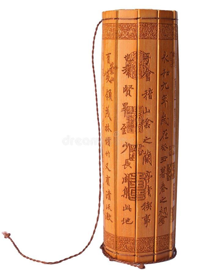Bambusów ślizgania obraz stock