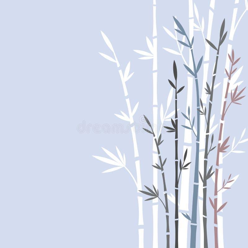 bambus royalty ilustracja