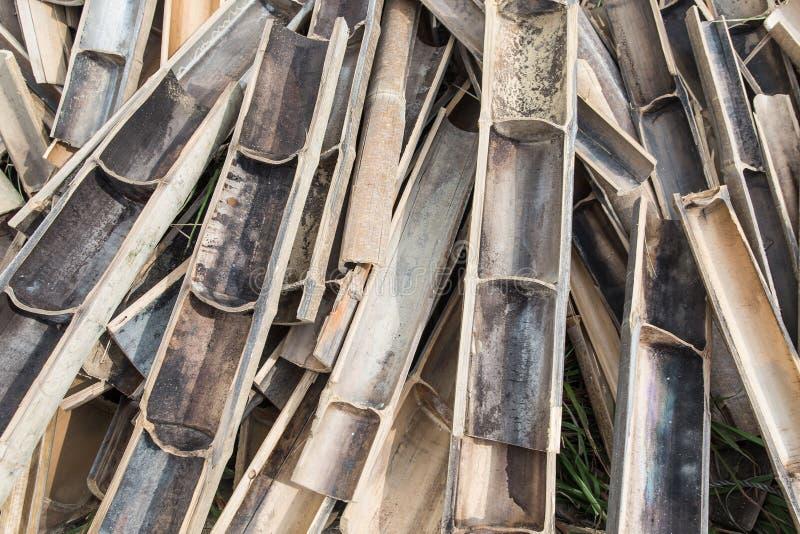 Bambus dla budowy obraz royalty free