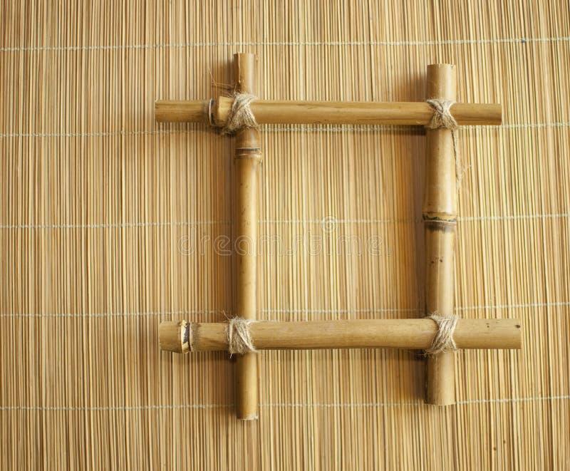 bambus rama zdjęcie royalty free