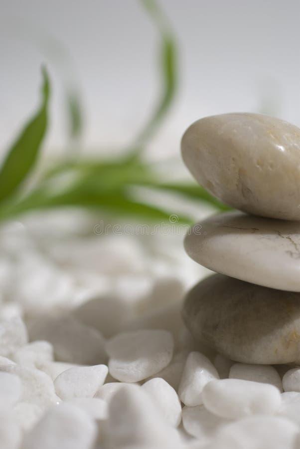 bambus stone zen. obraz royalty free