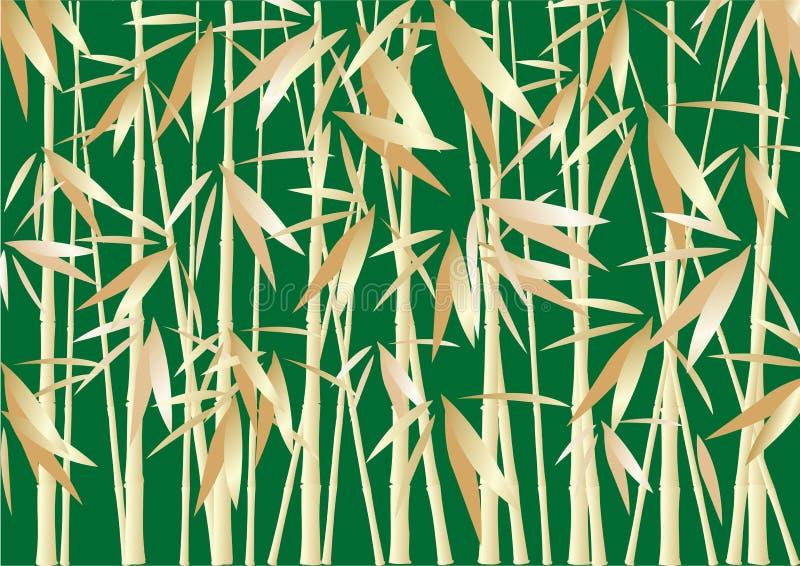 bambus tła abstrakcyjne ilustracja wektor