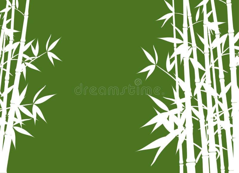 Bambus, Vektor stock abbildung