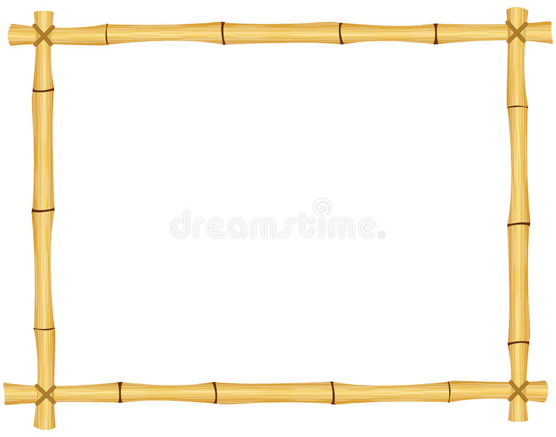 Bambus rama fotografia stock