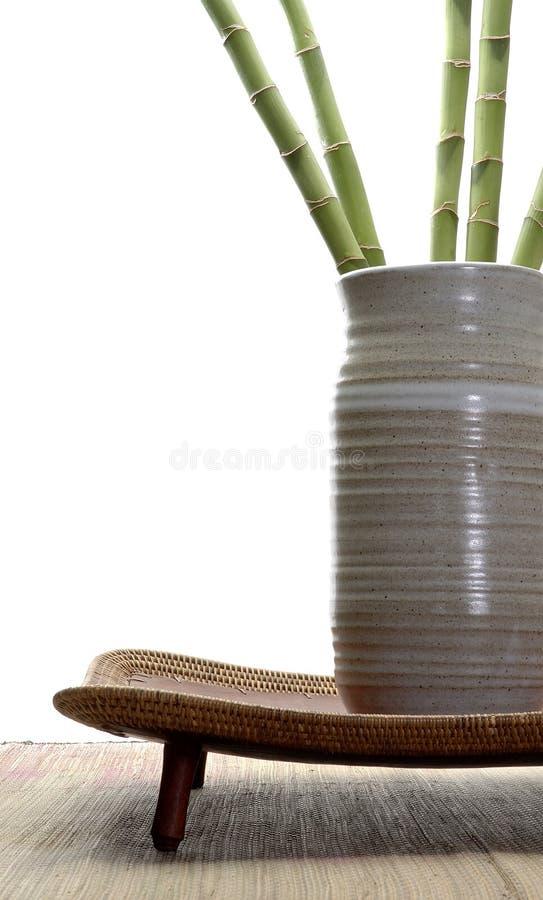 Bambusanordnung lizenzfreie stockfotografie