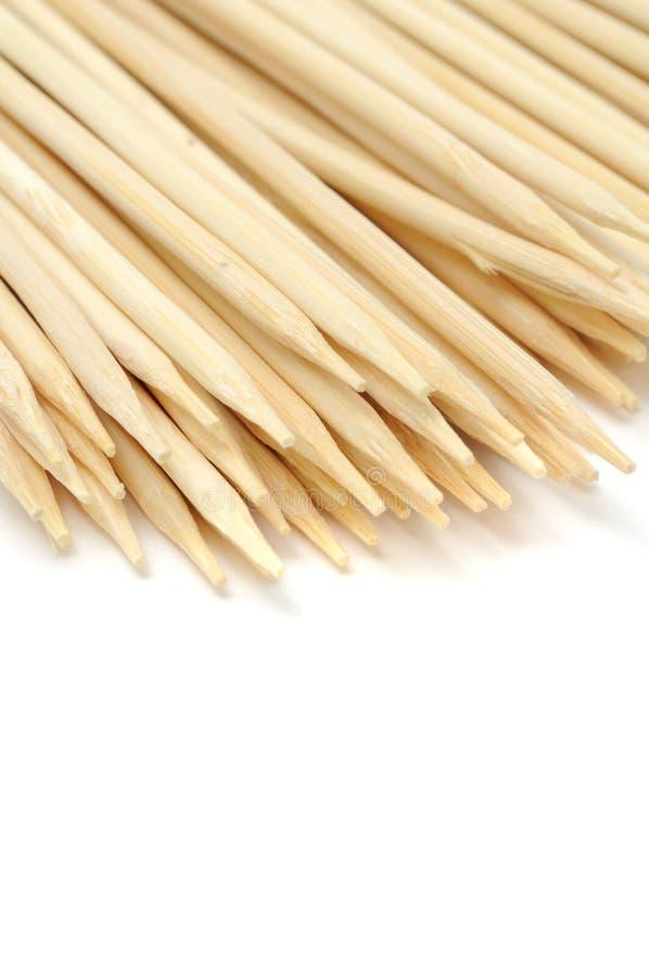 Bambusaufsteckspindeln stockfoto