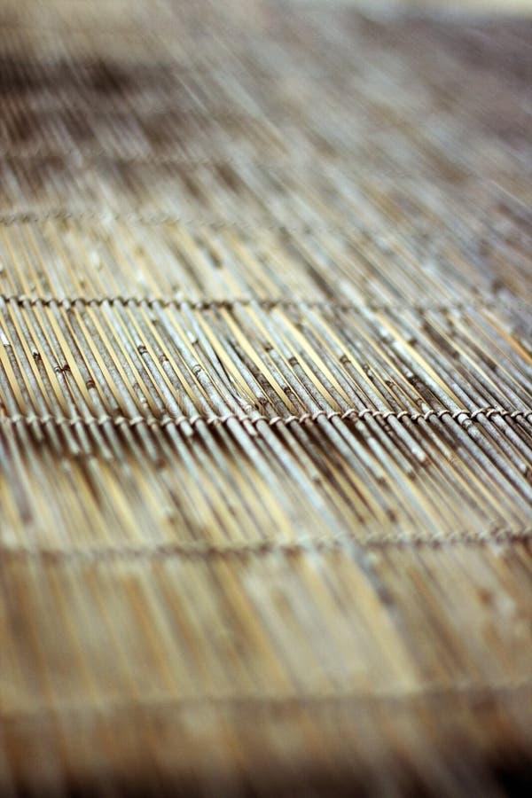 Bambusfensterabdeckung lizenzfreie stockbilder