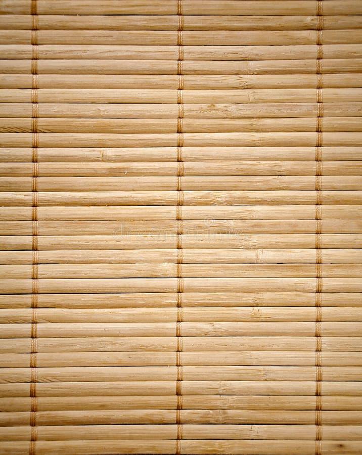 Bambusmattenbeschaffenheit stockfoto
