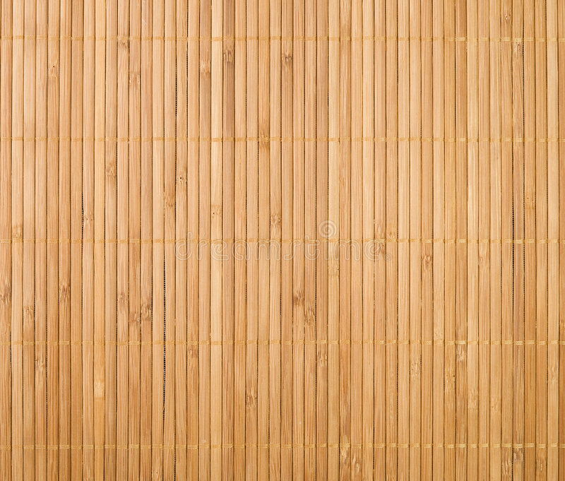 Bambusmattenhintergrund stockbild