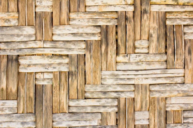 Bambusowa drewniana tekstura zdjęcia royalty free