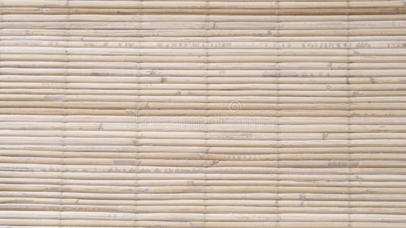 Bambusowy drewniany tło zdjęcie royalty free