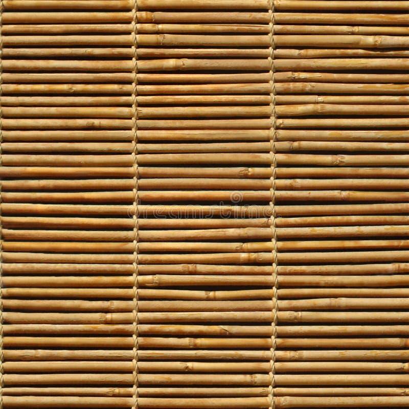 Bambusowy jalousie obrazy stock