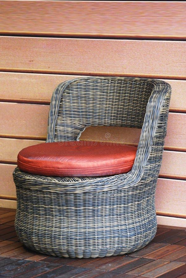 bambusowy krzesło obraz royalty free
