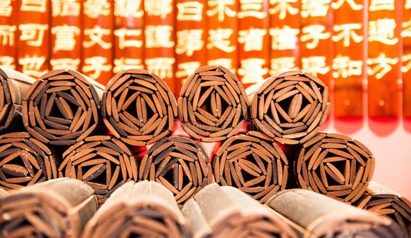 Bambusowy podręcznik obraz stock