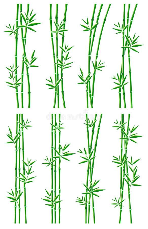 Download Bambussammlungssatz Vektor vektor abbildung. Illustration von japan - 90230682