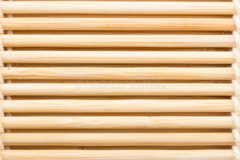 Bambussushirollen stockfotografie