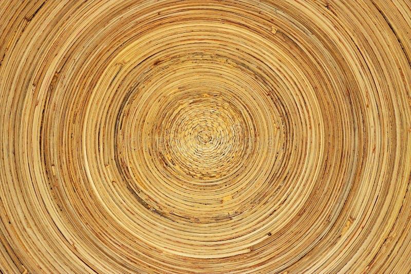 Bambusteller lizenzfreie stockbilder