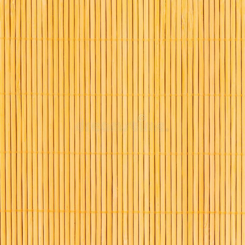 Bambustischdeckehintergrundbeschaffenheit stockbild