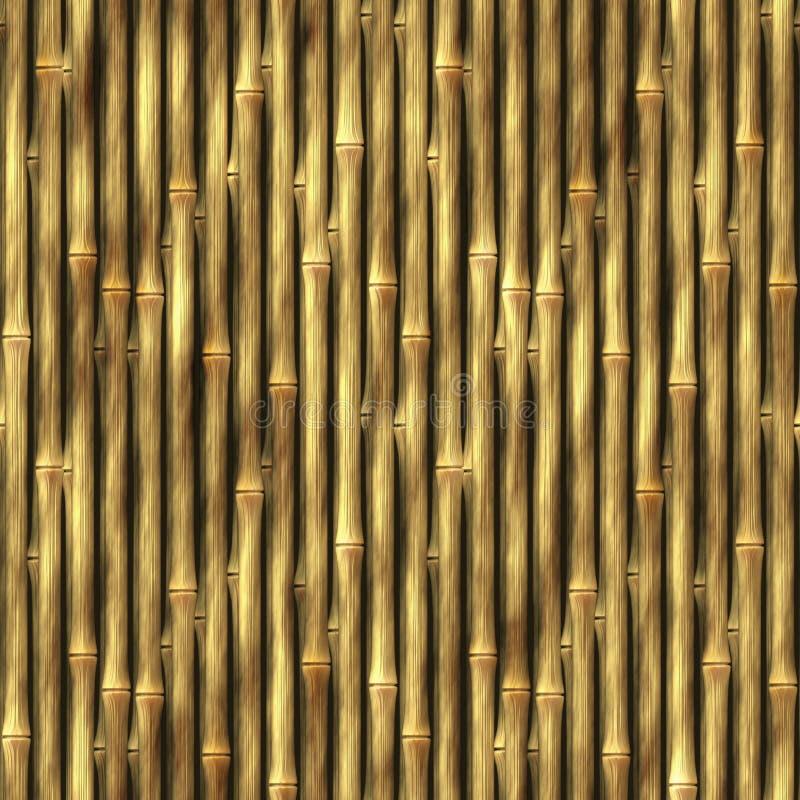 Bambuswand-Hintergrund vektor abbildung