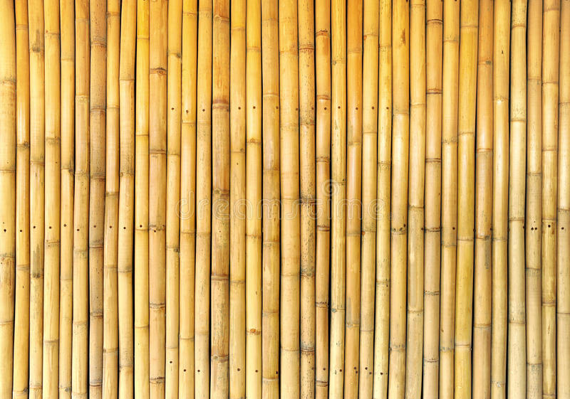 Bambuswandhintergrund lizenzfreie stockfotos