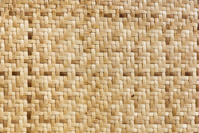 Bambuswebartmuster lizenzfreie stockfotografie