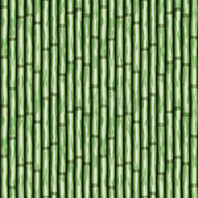 bambuvägg vektor illustrationer