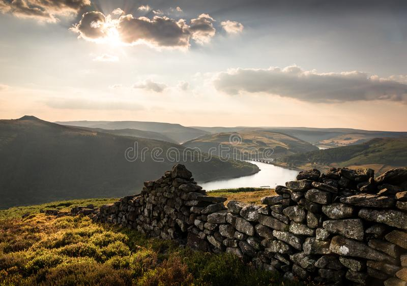 Bamford Edge - Bamford - Peak District royalty free stock photography