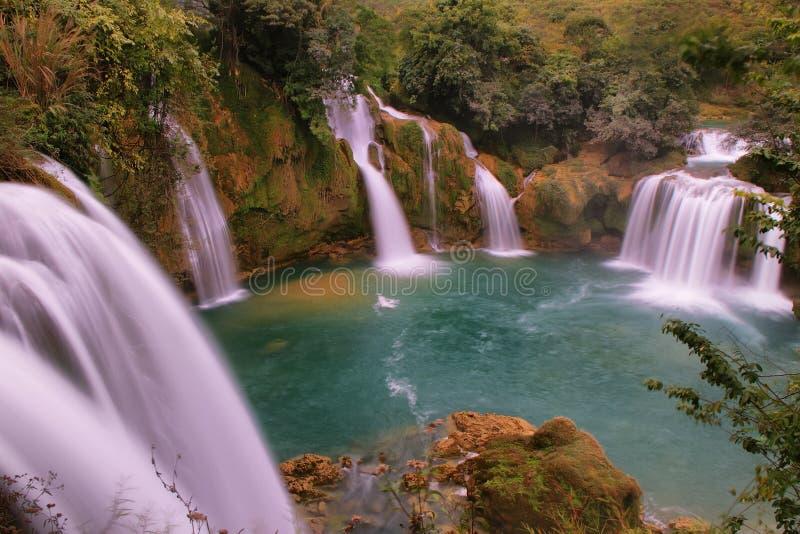 Ban Gioc - Detian waterfall stock photos