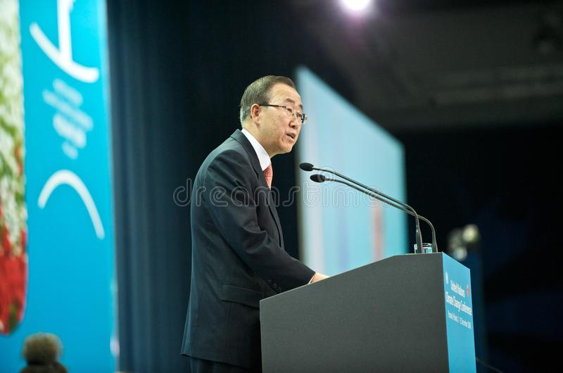 Ban Ki Moon stock photos