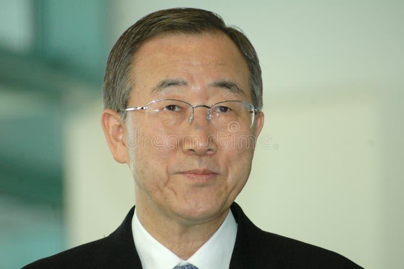 Ban Ki Moon stock photo