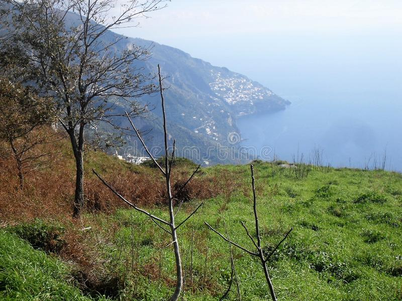 Bana av gudarna i suden Italien arkivbilder