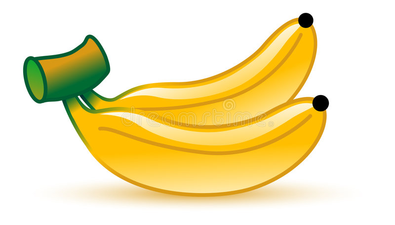 Banaan royalty-vrije illustratie