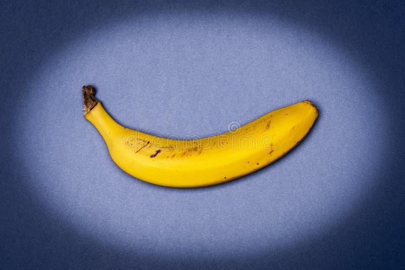 Banaan op Th-blauw stock fotografie