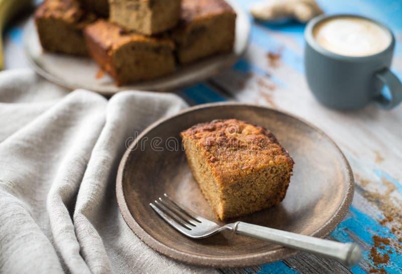 Banaanbrood stock foto's