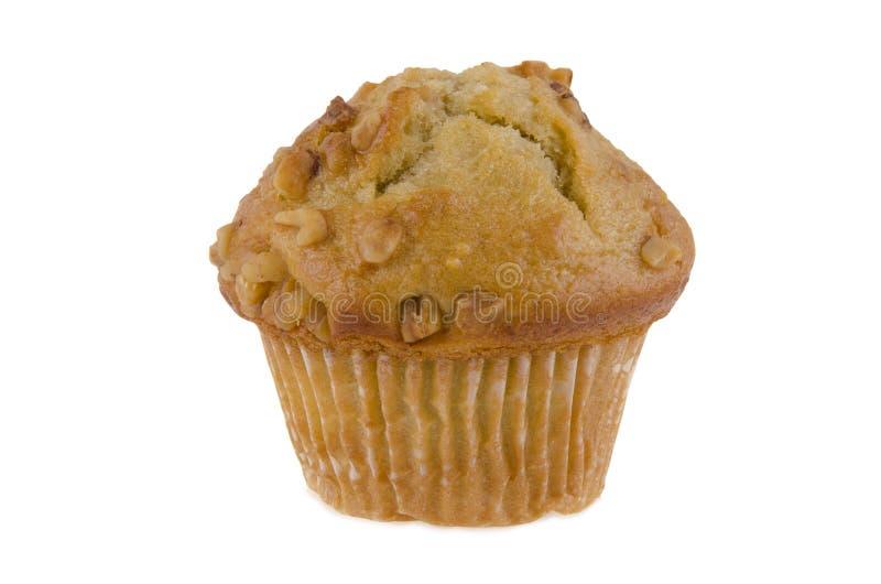 Banaanmuffin stock afbeelding