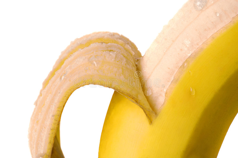 banan świeże obraz stock