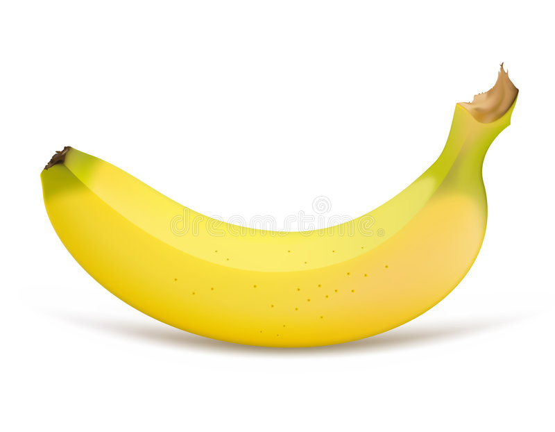 banan vektor illustrationer