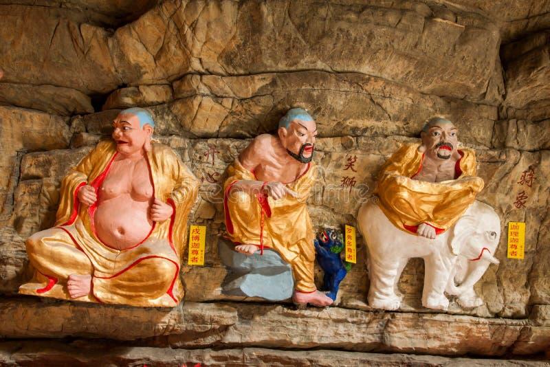 Download Banan District, Chongqing City, Cueva De East River Buda Salta Océano De Cinco Paños Imagen de archivo - Imagen de arte, civilización: 42432697
