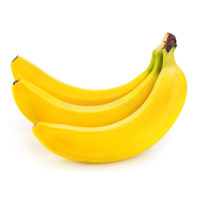 banan na bielu fotografia stock