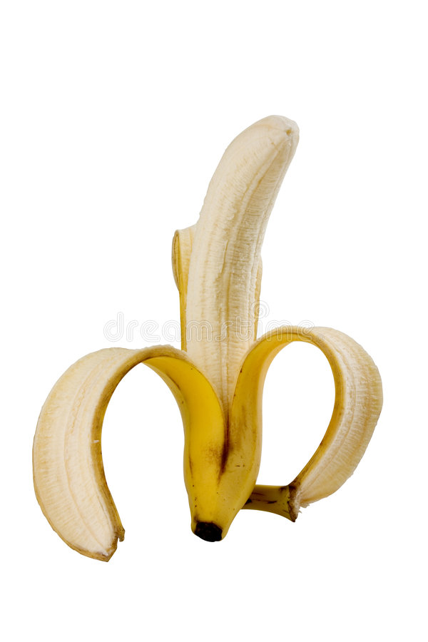banan odizolowane zdjęcia royalty free