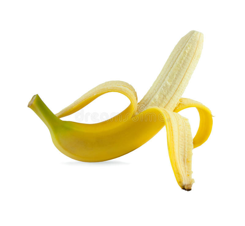 banan otwarty obrazy stock
