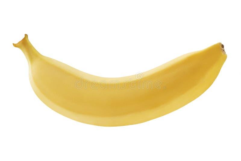 Banan på vit bakgrund som isoleras Fotograferade bananer på bunten Bra detaljerat bearbeta för foto arkivfoton