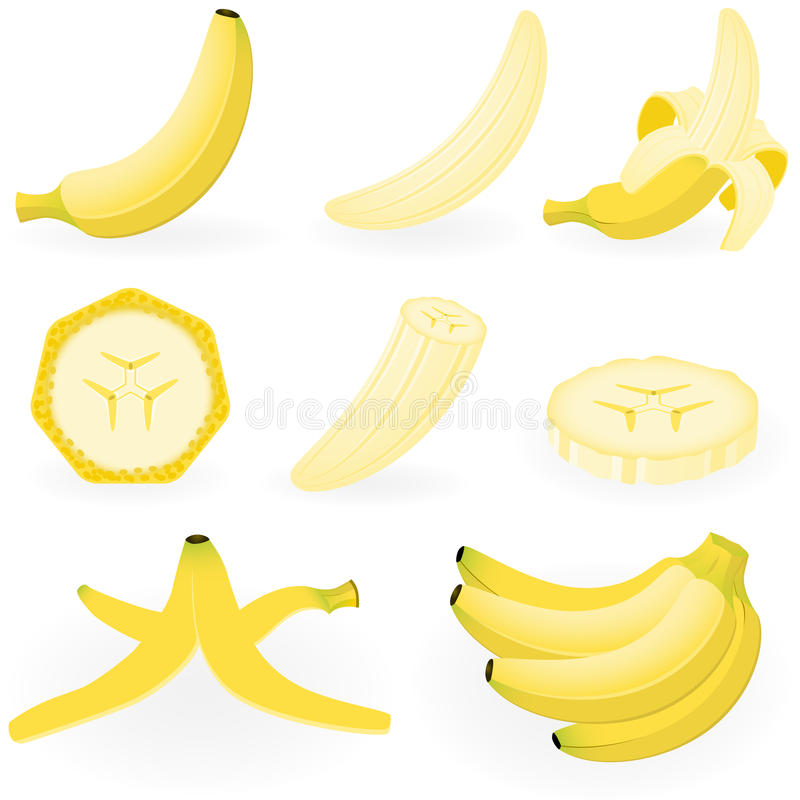Free Banana Royalty Free Stock Photos - 12469718