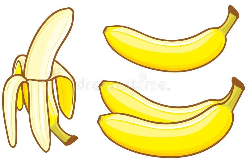 Banana ilustração stock