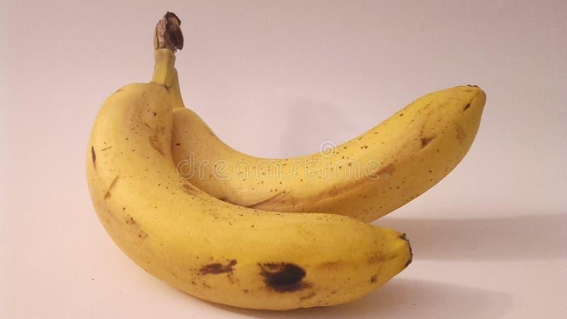 Banana amarela imagens de stock