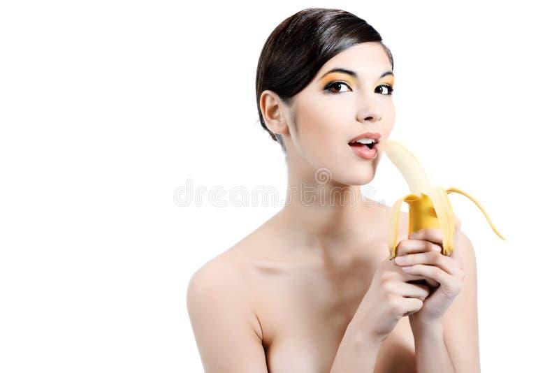 Banana amarela fotos de stock